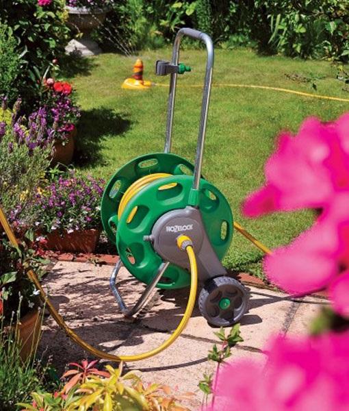 Tubo di irrigazione del giardino e bobina